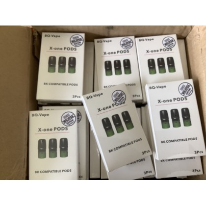 x-one REFILLABLE POD compatible for RELX, SP2, BREWJIRA and other 3unit