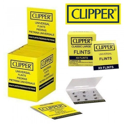 Clipper Universal Flint (9 Flints Per Pack)( Suitable Zippo Lighter )